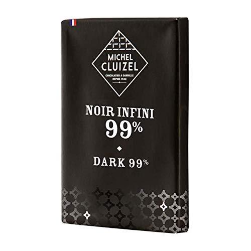 Michel Cluizel Nero Infinito Tavoletta al Cioccolato Fondente 99% - 1 x 30 Grammi