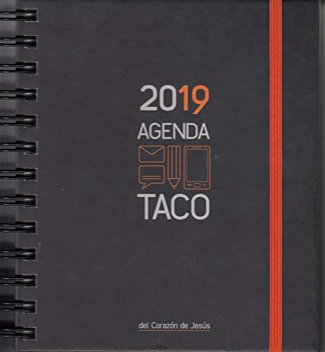 Agenda taco Sagrado Corazón 2019 Naranja
