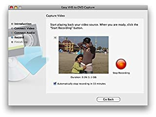 Roxio Easy VHS to DVD Burning and Video Capture for Mac للبيع
