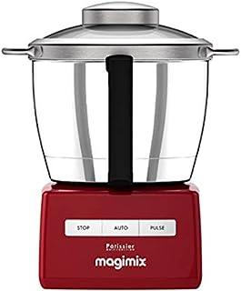 Magimix 148383 厨师机 多功能机器人,红色