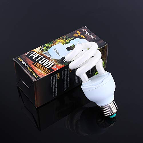 SH-RuiDu Direct Store UVB 13W Reptile Light Bulb UV Energy-Saving Lamp for Lizard Terrarium Tortoise