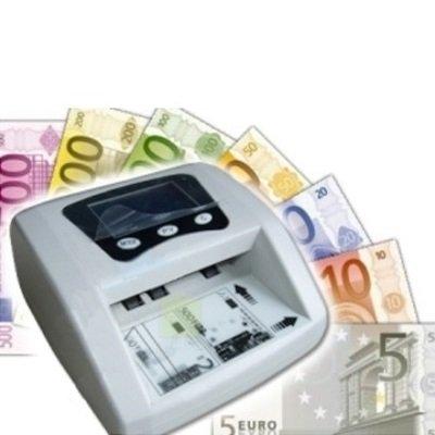 Mini rilevatore banconote false Conta banconote / Contabanconte con rilevatore di banconote false / Money detector Euro Rileva Verifica