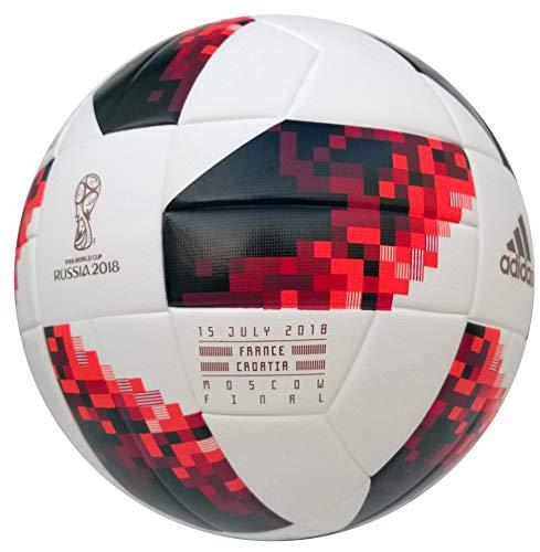 adidas Sonderedition Telstar WM 2018 Finale Mechta Top Replique Finale Fußball Imprint Spielpaarung Frankreich-Kroatien CW4683