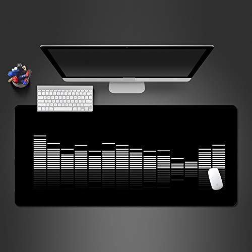 Mouse Pad 900X400*3Mm Creative 3D Audio Mouse Pad Pc Game Spelers Persoonlijkheid Nieuwe Laptop Toetsenbord Grote Tafel Pad Gamer