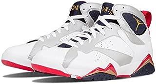 Jordan Air 7 VII Retro Olympic Men's Basketball Shoes White/Metallic Gold/Obsidian/Red 304775-135