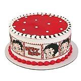 Betty Boop Birthday - Designer Strips - Edible Icing Sheet Side Strips - D58203