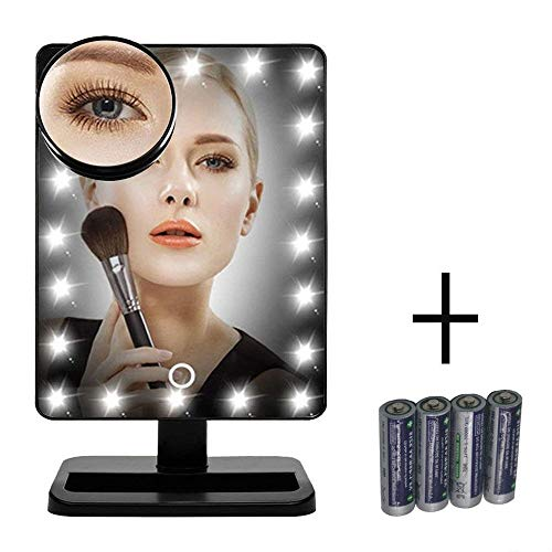 FLYMEI Vanity Makeup Mirror with Lights, Lighted...