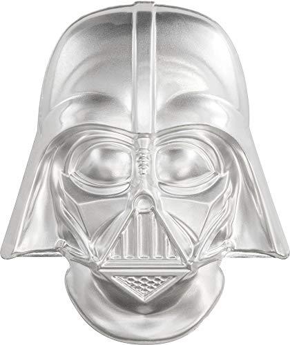 Power Coin Darth Vader Helmet Casco Ultra High Relief Star Wars 2 Oz Moneda Plata 5$ Niue 2019