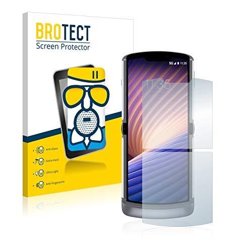 BROTECT Entspiegelungs-Panzerglasfolie kompatibel mit Motorola Razr 5G 2020 - Anti-Reflex Panzerglas Schutz-Folie Matt