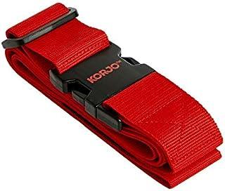 Korjo Luggage Strap, 4.5 Centimeters, Red