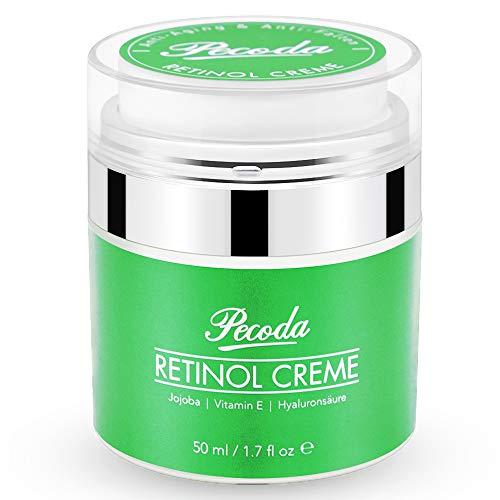 Retinol Feuchtigkeitscreme Creme-2019 Neu-2.5% Retinol Anti falten/aging Lift Creme für gesicht. Natürliche Hautpflege-Behandlung crème für Frauen und Männer. 50ml