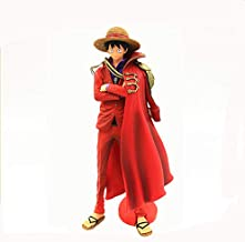 CLEARNICE Decoration Japan Anime One Piece Luffy PVC Action Figure Cloak Straw Hat Magazine Luffy Figure Collectible Car Decoration Model