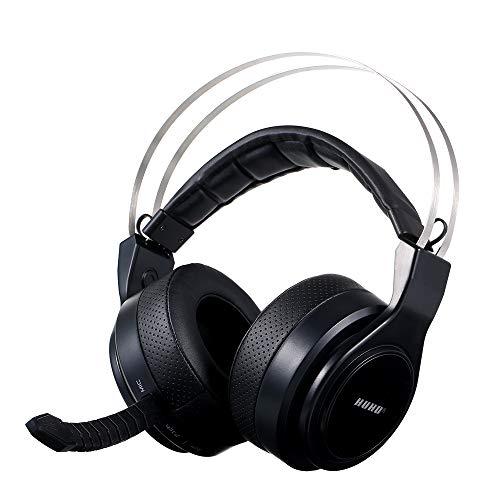 Docooler HUHD Wireless Gaming Headset Optische kabelgebundene Gaming-Kopfhörer Surround Sound USB Stereo Gaming-Kopfhörer für X Box 360 PS3 PS4 PC MAC