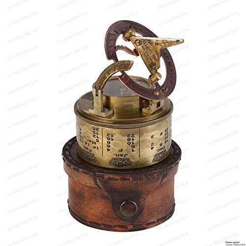 Vintage Marine Sundial Compass