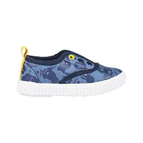 Cerdá Jungen Zapatilla Loneta Baja Mickey Hohe Sneaker, Blau (Azul C04), 26 EU