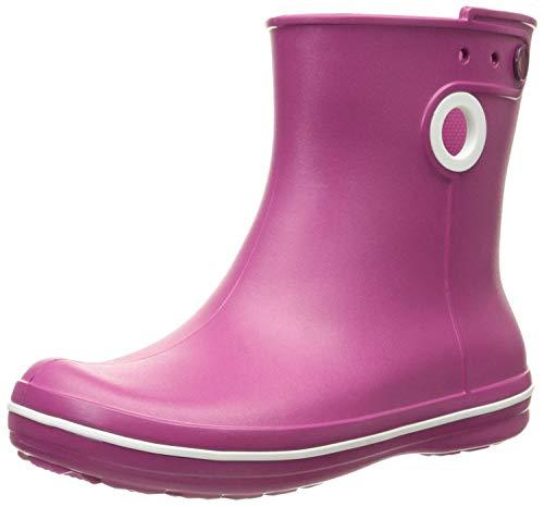Crocs Jaunt Shorty Boot Women, Damen Gummistiefel, Pink (Berry), 34/35 EU