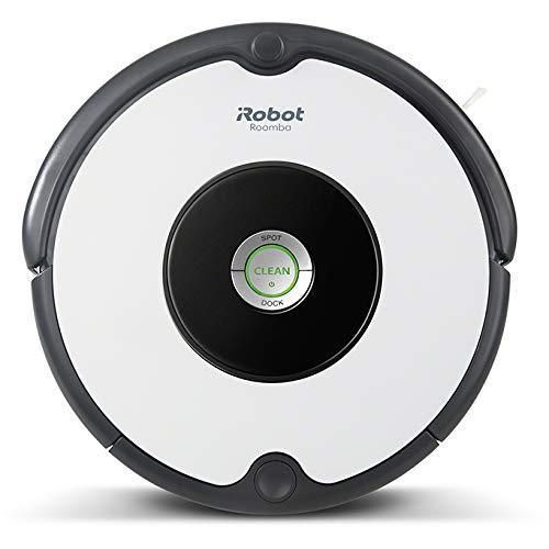 iRobot Roomba 605 - Robot aspirador, Bueno para alfombras y suelos duros, Tecnología Dirt Detect, Sistema de limpieza en tres fases