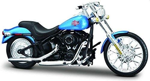 Maisto Harley-Davidson 2002 FXSTB Night Train Blue 1:18 schaalmodel motorfiets