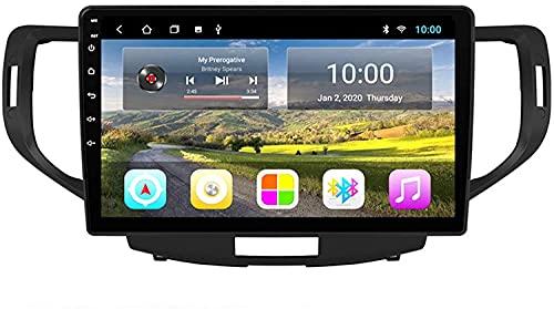 ZHANGYY El automóvil con navegación GPS Bluetooth es Adecuado Compatible con Honda Sprite Accord 2008-2013 Máquina integrada Android Reproductor Multimedia con navegación Totalmente táctil