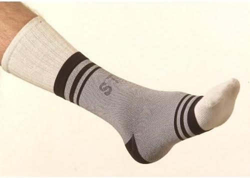 SafeTGard Multi-Compression Support Elastic M Black Super special price Grey Ankle Rare