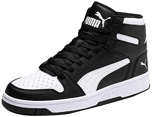 Puma Unisex-Erwachsene Rebound Layup SL Sneaker, Black White, 42 EU