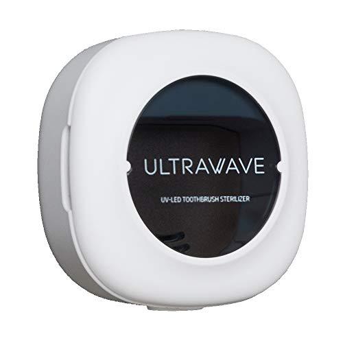 MEDIK UV-C LED充電式歯ブラシ除菌キャップ 乾燥付き 生活防水タイプ マグネット内蔵壁かけ可 小型 軽量 携帯に最適 ホワイト (MDK-TS05WH)