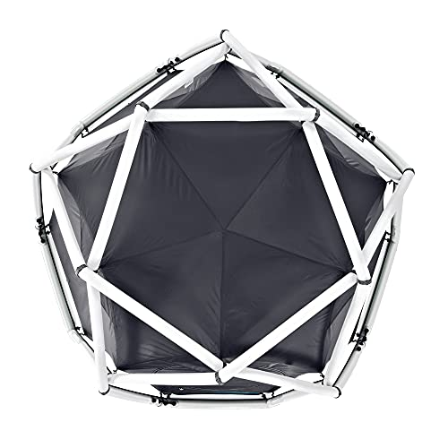 HEIMPLANET Original   The Cave 2-3 Person Dome Tent   Inflatable Tent - Set Up in Seconds   Waterproof Outdoor Camping - 5000mm Water Column   Supports 1% for The Planet