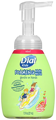 Dial Foaming Hand Soap for Kids, Watery Melon, 7.5 Fluid Ounces