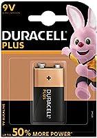 Duracell Plus Power 6LR61/MN1604, Batería alcalina, Transistor, 9V