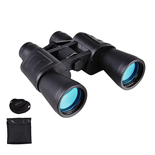 Andoer Binocolo Professionale, 20 x 50 HD Binocolo con Clip per Smartphone, Funzione di Visione Notturna, con Borsa per Osservazione Uccelli, Escursioni, Caccia, Concerti