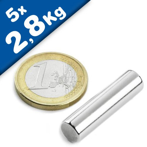Sud pack de 10 2,5kg force dadh/érence Magnet Expert/® 12mm diam/ètre x 4mm x 4,2mm fraiser n/éodyme aimant