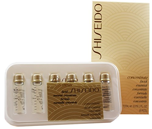 Shiseido Essential Concentrate Serum & Kur, (6 x 5 ml)