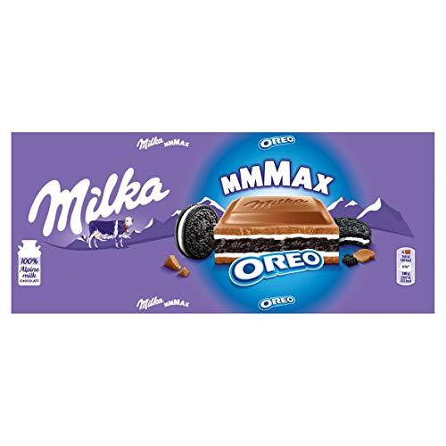 Milka Mmmax Oreo - Barretta di cioccolato, 300 g