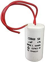 CBB60 16uF Motor Running Capacitor AC 450V/250V 50/60Hz 2 Wire