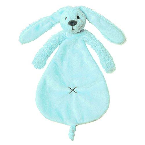 Happy Horse Soft Blue Rabbit Richie design Tuttle Comfort Blanket - Suitable for babies