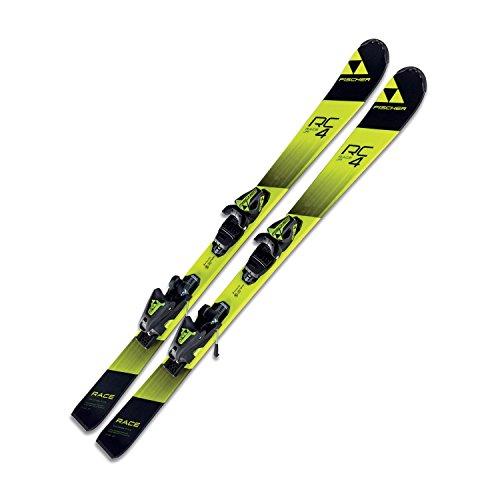 Ski Fischer RC4 Race JR SLR2 Kinder Jugendski 150cm Modell 2018 On Piste Rocker + Bindung FJ7 AC SLR