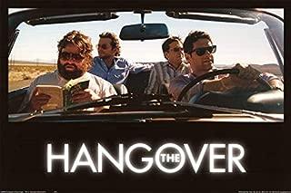 Buyartforless Hangover Bradley Cooper Ed Helms Zach Galifianakis 36x24 Movie Poster, Print, Decorative Accent, Wall Art Multi-Color