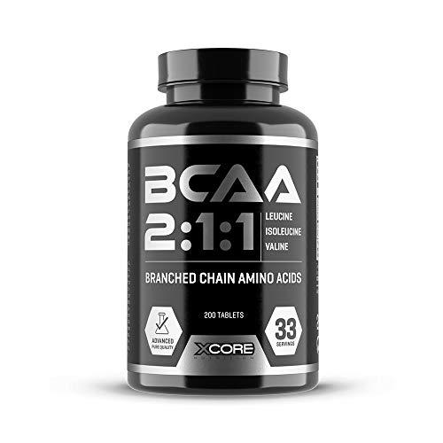 Xcore Nutrition BCAA Complex 3100 - Fórmula de Aminoácidos