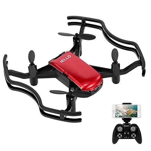 Florld Iello F21W Drone 720P Mini Wifi FPV Altitude Hold Selfie Droni con controllo APP RC Quadcopter