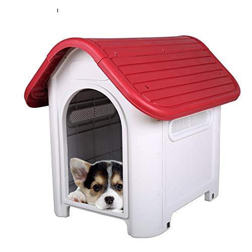 Hundekissen Hundematte Hundebett Umweltfreundliche Hundehütte AusKunststoff, Wasserdichter Zwinger Für Hunde Im Innen- Und Außenbereich S Grün