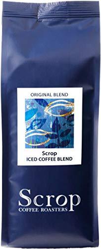 【ブレンド コーヒー豆 アイス専用】Scrop アイスコーヒー ブレンド 水出し用 フルシティロースト 深煎り 200g (豆のまま)