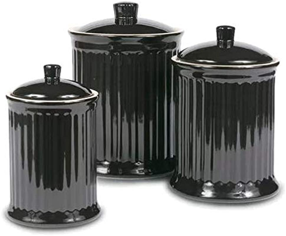Newmont 3 Piece Kitchen Canister Set