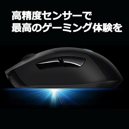 『【PUBG JAPAN SERIES 2018推奨ギア】LOGICOOL ロジクール G403 Prodigy ワイヤレスゲーミングマウス G403WL』の2枚目の画像