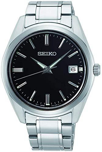 Seiko Quarz Herren-Uhr Edelstahl mit Metallband SUR311P1