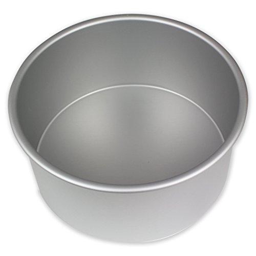 PME - Molde redondo de aluminio anodizado, 178 mm x 102 mm de profundidad