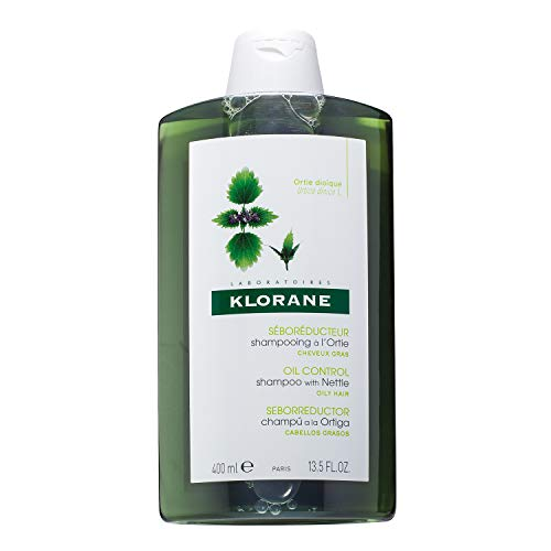 Klorane Shampoo with Nettle for Oily Hair and...