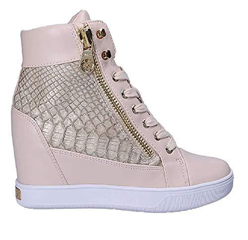 Guess FLFOR1 PEL12 - Zapatillas deportivas para mujer con cuña entera beige Size: 40 EU