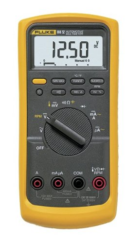 Fluke 88-V 100V Multimeter- best voltage for electricians