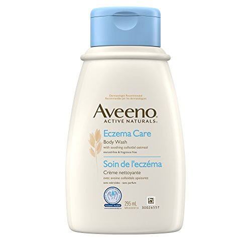 Aveeno Eczema Care Body Wash, Active Naturals Unscented Anti Itch Body Wash, 295mL