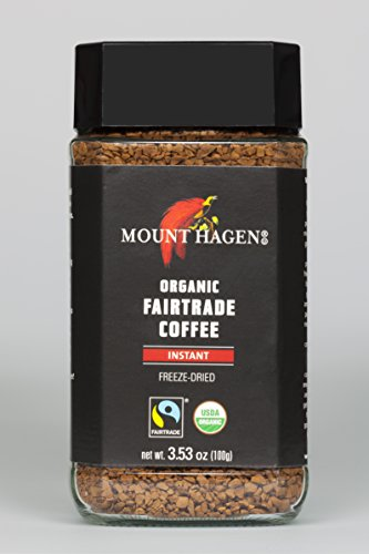 Mount Hagen Organic Fair Trade Freeze Dried Instant Coffee 353 oz Kosher certified